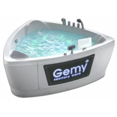 Акриловая ванна Gemy 202x193x87