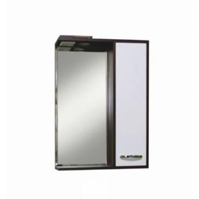 Зеркало-шкаф Sanita Квадро 60 с освещением