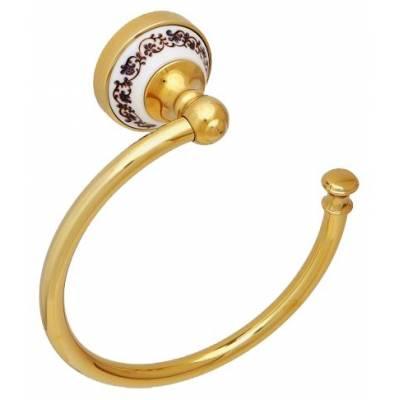 Полотенцедержатель кольцо Fixsen Gold Bogema FX-78511G