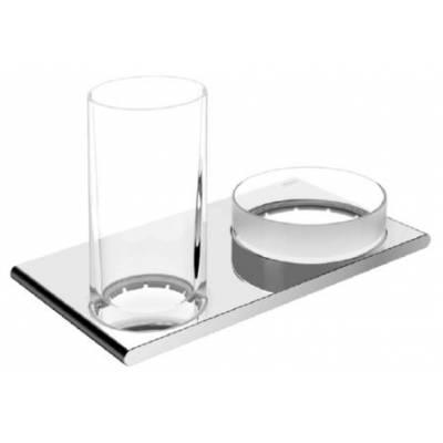 11554019000 Edition 400 Двойной держатель стакана и чаши для мелочей