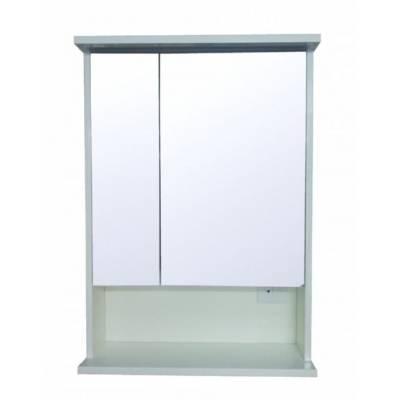 Зеркало-шкаф с подсветкой Стиль Арфа 60