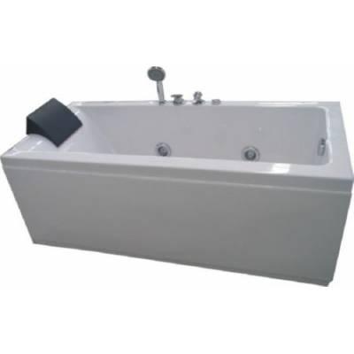 Акриловая ванна Appollo 170x75x60,5 левая