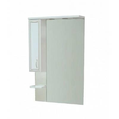 Зеркало - шкаф CORALL GOLD 70/1 лев. (700*1075*170)
