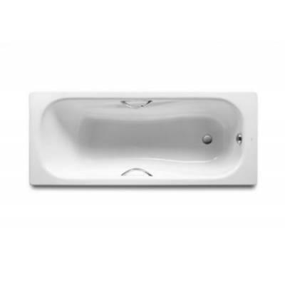 Стальная ванна Roca PRINCESS 170x75x43 универсальная