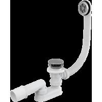 Сифон для ванны click/clack Alca Plast A505CRM, хром