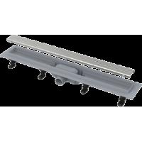 Водоотводящий желоб с порогами для перфорированной решетки Alca Plast APZ9-750 Simple