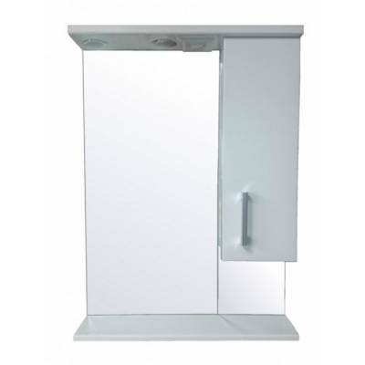Зеркало-шкаф со светильником Стиль Модерн 60