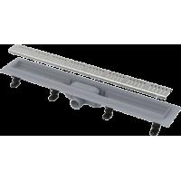 Водоотводящий желоб с порогами для перфорированной решетки Alca Plast APZ10-750 Simple