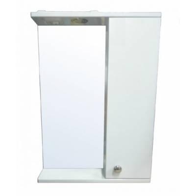 Зеркало-шкаф Моника 50 правый (500*695*135) со светильником