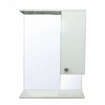Зеркало-шкаф Моника 60 правый (600*695*150) со светильником
