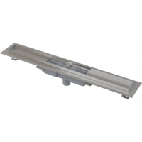 APZ1101-300 Водоотводящий желоб с порогами для перфорированной решетки, с вертикальным стоком (сталь)