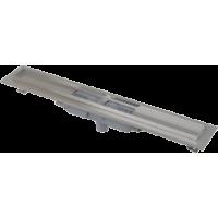 APZ1101-650 Водоотводящий желоб с порогами для перфорированной решетки, с вертикальным стоком (сталь)