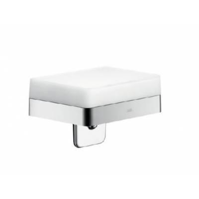 42819000 Axor Universal Accessories Дозатор для жидкого мыла с полочкой 150 мм для настенного монтаж