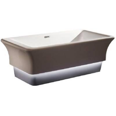 Акриловая ванна Gemy 170x80x45x58