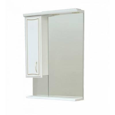 Зеркало - шкаф CORALL GOLD 60 лев. (600*825*160)