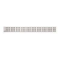 CUBE-750L Решетка для водоотводящего желоба (Нержавеющая сталь глянцевая)